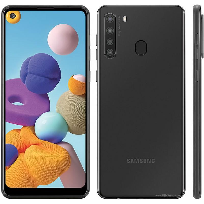 Cellulaire Samsung Neuf GAlaxy A21 32 Go Déverrouillé Noir