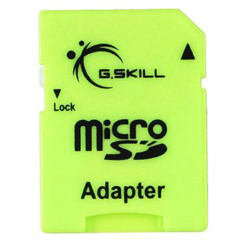 Adaptateur G.Skill Mini SD Mâle Micro SD Femelle Vert