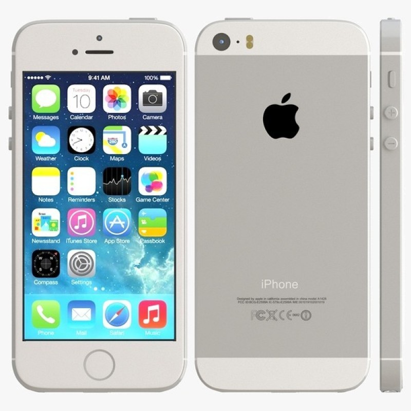 Cellulaire Apple Usagé (B) iPhone 5S 16 Go Telus Blanc