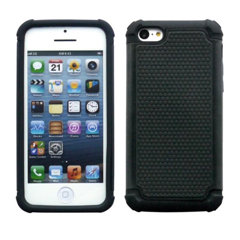 Étui Plan B Télécom Hybride iPhone 6 Antichoc Noir
