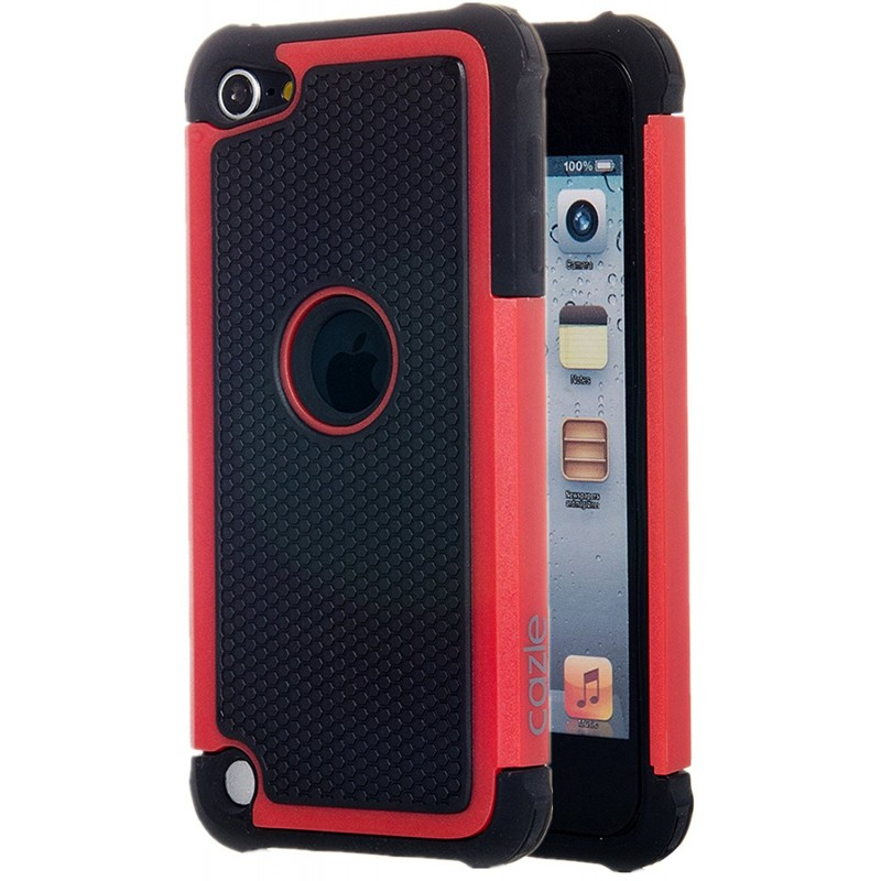 Étui Plan B Télécom Hybride iPhone 7 Antichoc Rouge