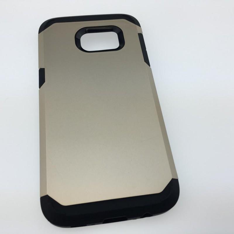 Étui Plan B Télécom Galaxy S6 Edge G925 Coque rigide Argent