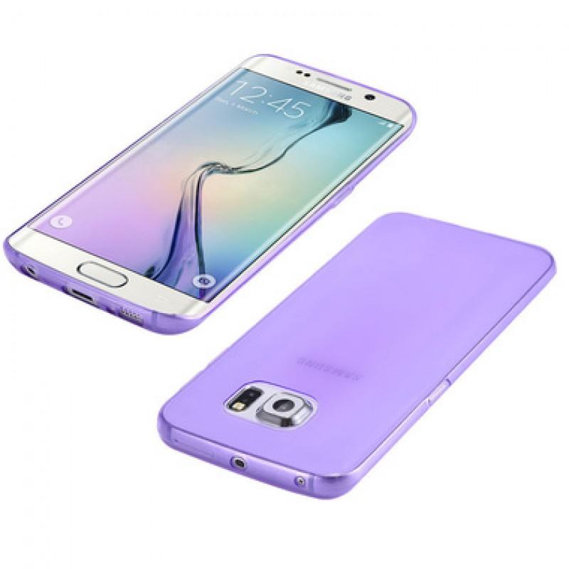 Étui Plan B Télécom Galaxy S6 Edge G925 Coque souple Mauve