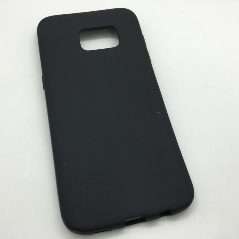 Étui Plan B Télécom Galaxy S7 Edge G935 Coque souple Noir