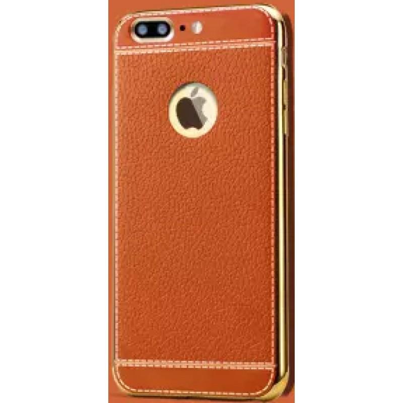 Étui Plan B Télécom Litchi Galaxy S6 G920 Coque rigide Brun