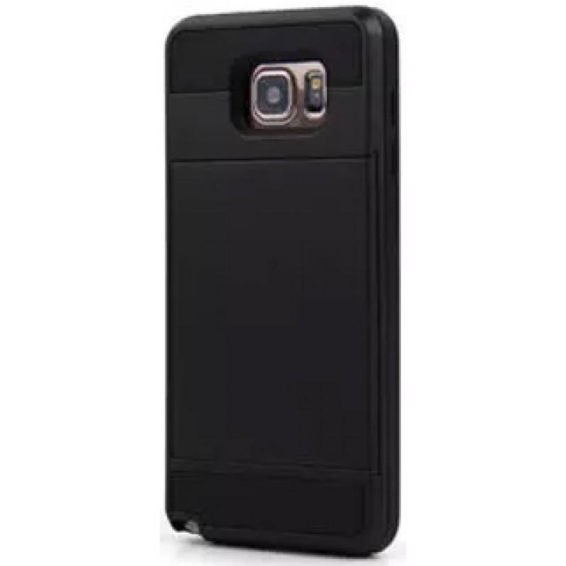 Étui Plan B Télécom Galaxy S6 G920 Porte cartes Noir