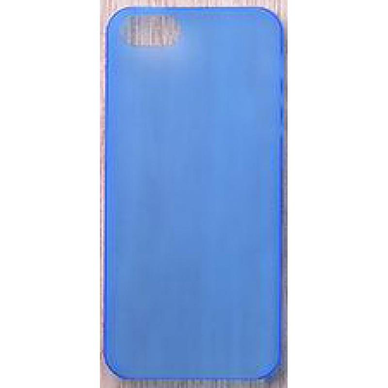 Étui Plan B Télécom Ultra-Mince iPhone 5 iPhone 5S iPhone SE Coque rigide Transparent Bleu