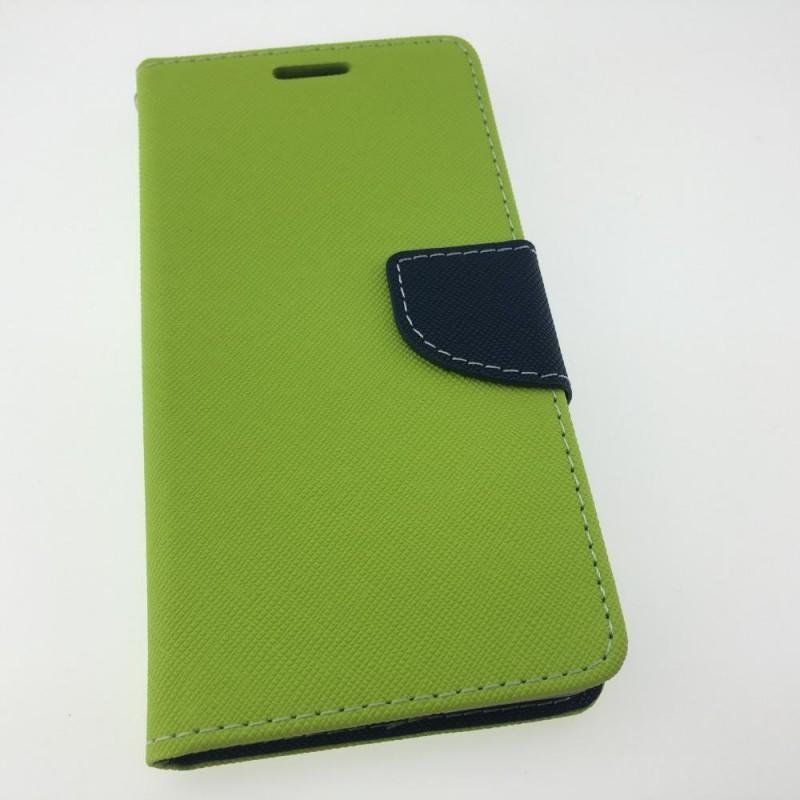 Étui Plan B Télécom iPhone 6 Plus Porte feuille Vert et Bleu