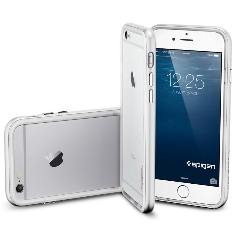Étui Spigen Neo Hybrid iPhone 6 Satin Argent