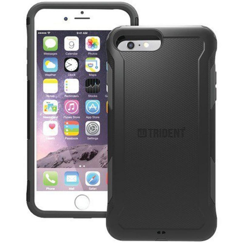 Étui Trident Aegis iPhone 7 Plus Antichoc Noir
