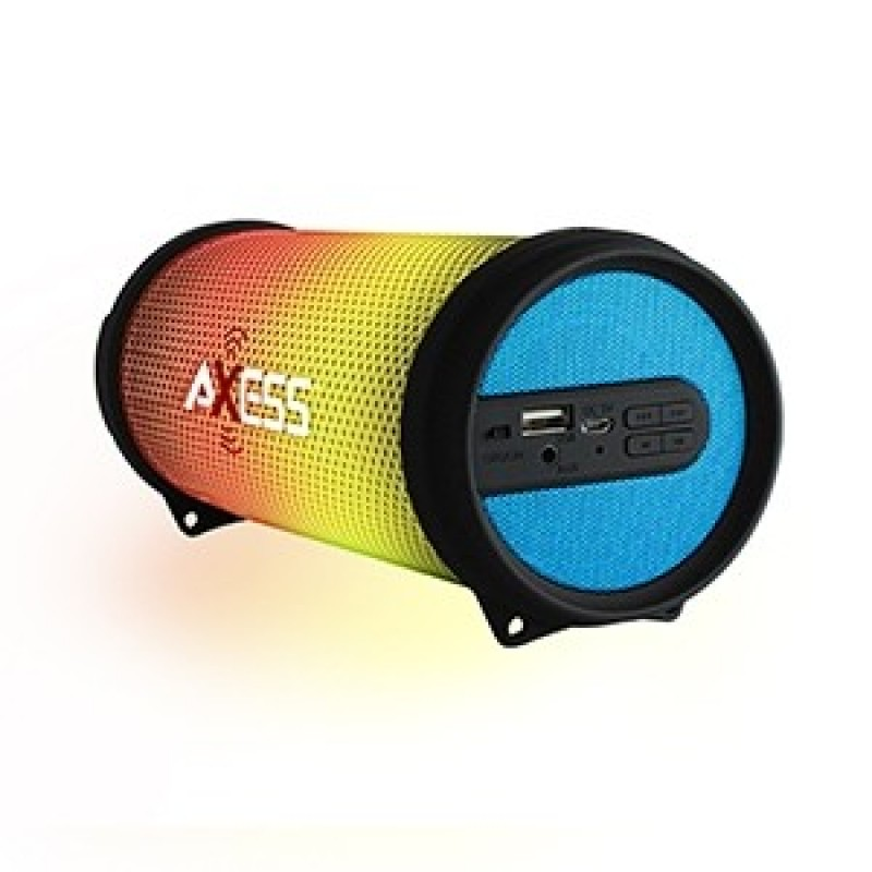 Haut-parleur AXESS Bluetooth Vibrant mini Bleu