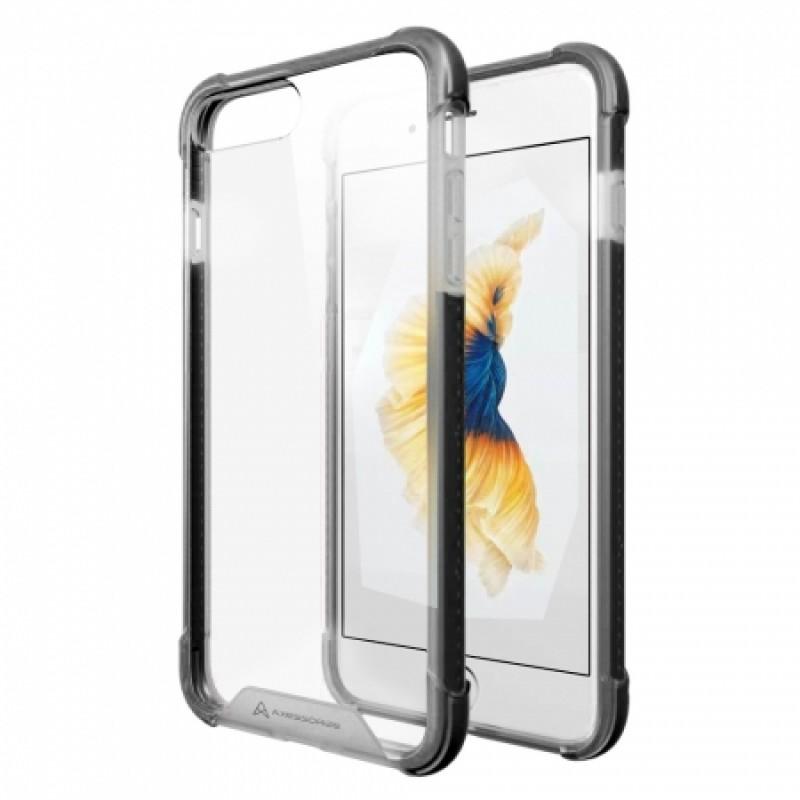 Étui Plan B Télécom ProShield Galaxy S7 Edge G935 Coque rigide Transparent Noir