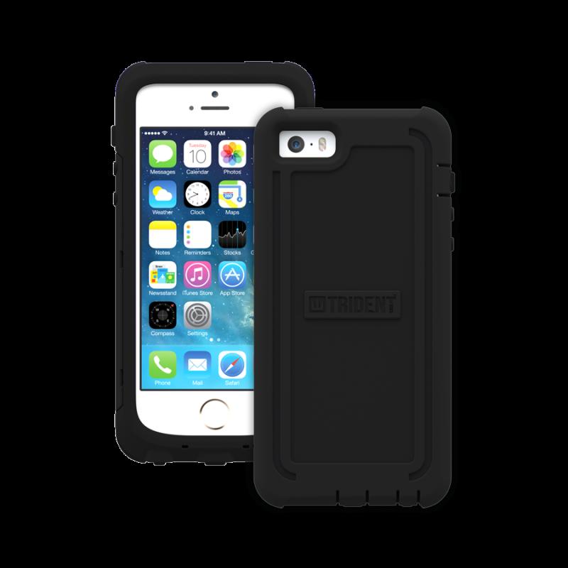 Étui Trident Cyclops iPhone 5 iPhone 5S iPhone SE Antichoc Noir