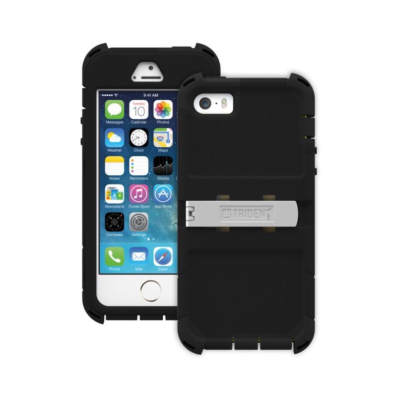Étui Trident Kraken iPhone 5 iPhone 5S Antichoc Noir